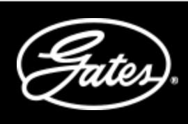 Logo Gates Negro